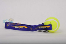 Minnesota Vikings  Tennis Ball Tug Dog Toy