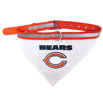 Chicago Bears Bandana Dog Collar