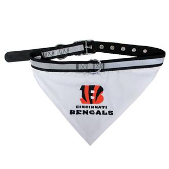 Cincinnati Bengals Bandana Dog Collar