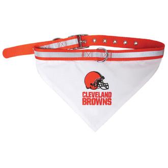 Cleveland Browns Bandana Dog Collar