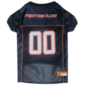 Illinois Football Dog Jersey