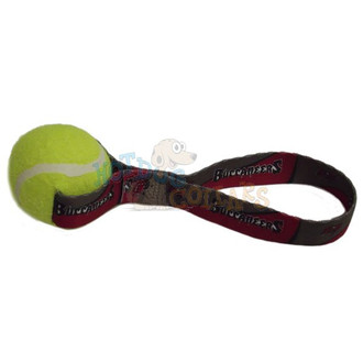 Tampa Bay Buccaneers Tennis Ball Tug Dog Toy