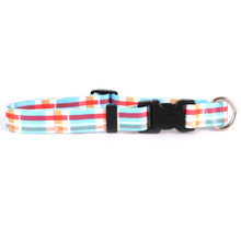 Madras Blue Break Away Cat Collar