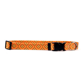 Cleo Orange Break Away Cat Collar
