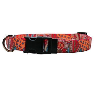 Bohemian Patchwork Break Away Cat Collar