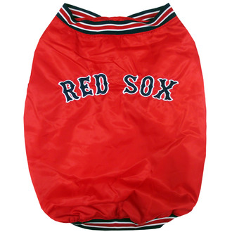 Boston Red Sox Dugout Team Jacket For Dogs