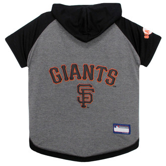 San Francisco Giants Hoodie T-Shirt For Dogs