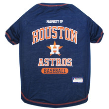 Houston Astros Tee Shirt For Dogs