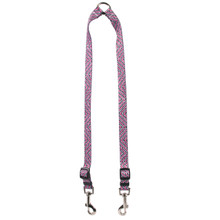 Pink Tweed Coupler Dog Leash