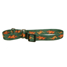 Fire Breathing Dragon Martingale Dog Collar