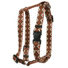 Aztec Sand Roman Style H Dog Harness