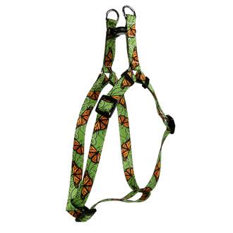 Monarch Swirl Step-In Dog Harness