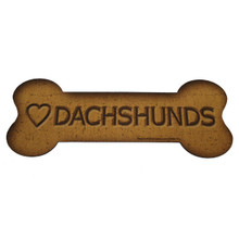 Love Dachshunds Bone Biscuits Magnet