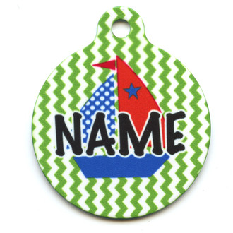 Toy Boats HD Pet ID Tag