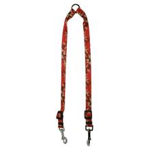Camo Red Coupler Dog Leash