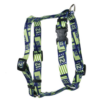 12th Dog Flags Roman Style H Dog Harness