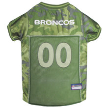 Denver Broncos NFL Football Camo Pet Jersey