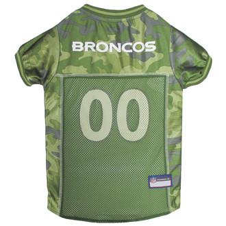 Denver Broncos NFL Football Camo Pet Jersey