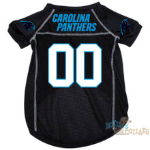 Carolina Panthers NFL Football Dog Jersey - CLEARANCE