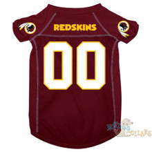 Washington Redskins NFL Football Dog Jersey - CLEARANCE