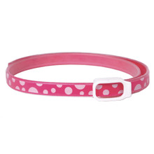 Essential Oils Dog Collar - Pink Polka Dot