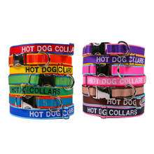 Personalized Dog Collar With Embroidered Names