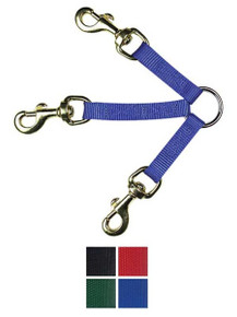 3-Way Double Dog Coupler/Leash