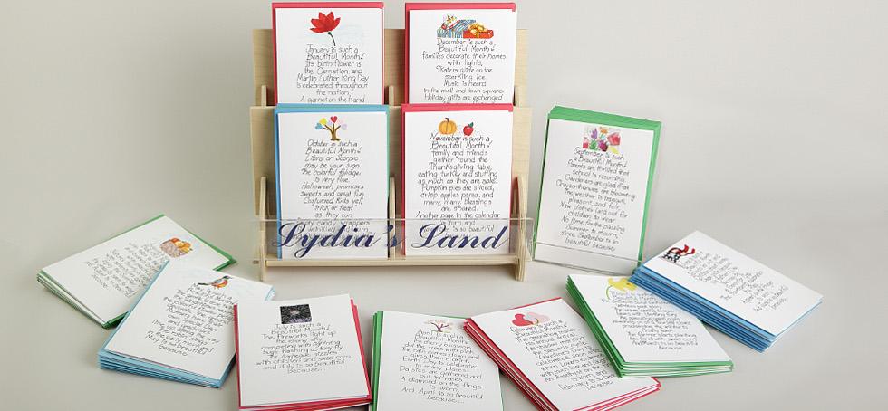 Birthday Month Greeting cards