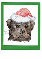 Christmas Rottweiler #C662