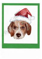 Christmas Beagle #C663