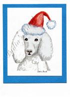 Christmas Poodle #C665