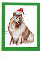 Christmas Collie #C667