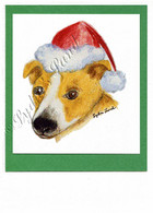 Christmas Jack Russell #C669