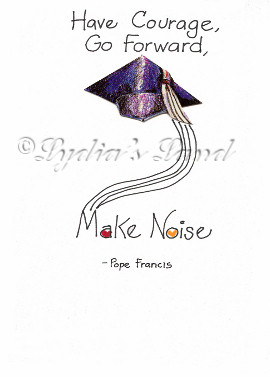 Handcrafted Graduation Day Greeting Card