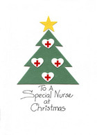 Christmas Nurse card