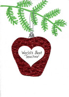 Christmas Teacher Card