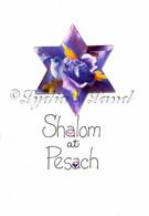 handmade passover card