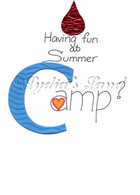 Summer Camp Card