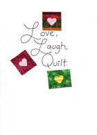 Handmade Birthday Quilt card