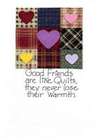 Handmade Quilt themed card