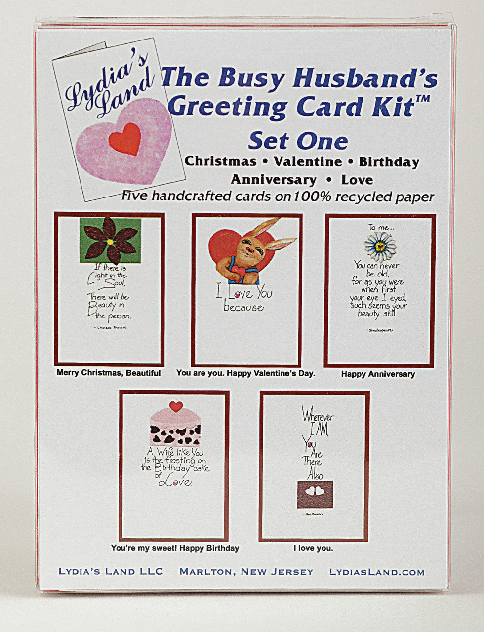 d7ac91124d65f The Busy Husband's Greeting Card Kit Set One
