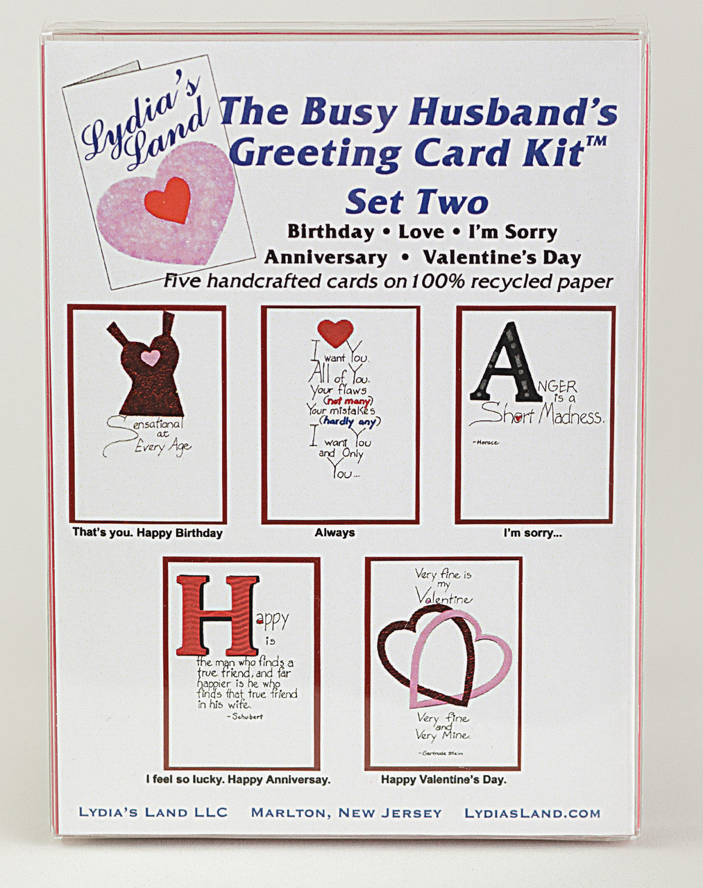 1a15abf62fa71 The Busy Husband's Greeting Card Kit Set Two