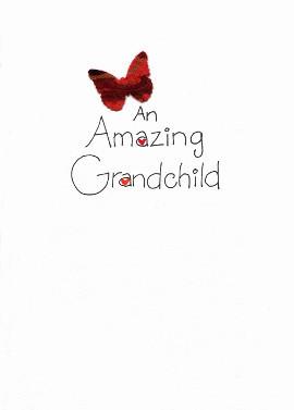 Grandchild birthday card