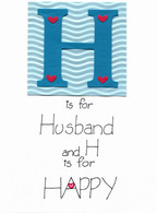 Handmade Husband Anniversary card