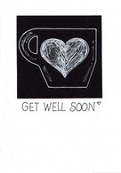 Get Well Note Card