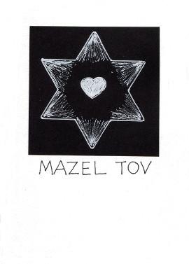 Mazel Tov Note card