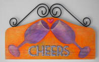 Original art Wine plaque