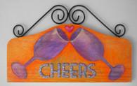 Original art Wine plaque