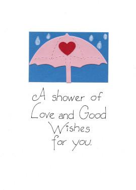 Handmade Bridal Shower Card