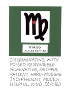Zodiac Virgo Birthday